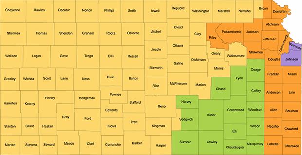 Kansas Redistricting Map - Turnpike 4th